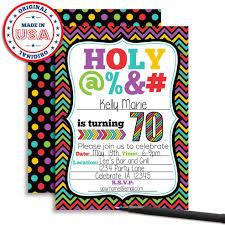 Amandacreation Invitaciones Para Fiesta De 70 Cumpleanos 10