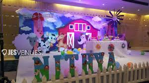Old Mcdonald Theme Decoration Birthday Or Kids Party Hyderabad