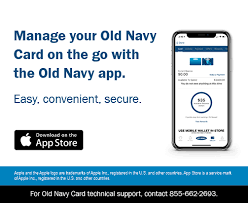 manage your old navy credit card account