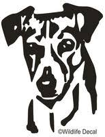 Jack Russell Decals Jack Russell Stickers Car Sticker