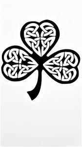 Amazon Com Chase Grace Studio Irish Celtic Knot Shamrock Vinyl Decal Sticker Black Cars Trucks Vans Suv Laptops Wall Art 5 25 X 5 25 Cgs635 Automotive
