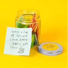the happy news glass happy jar filled happy thoughts