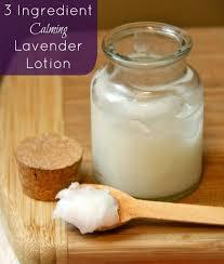 3 ing calming lavender lotion