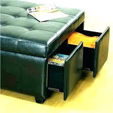 black dorm storage item storage ottoman