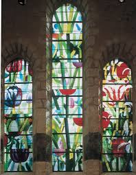 stained glass windows as contemporary