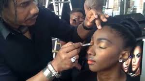 david corançon makeup artist for black