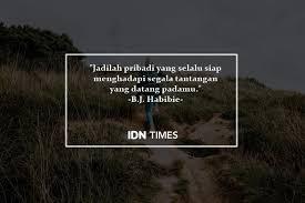quotes inspiratif b j habibie dari cita cita hingga cinta