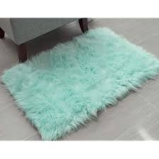 mint green rugs com
