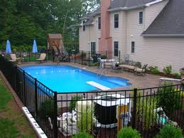 Type Pool Fencing Ideas Home Ideas Collection Inground Pool