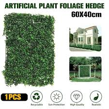5 1 0 5m Artificial Faux Ivy Leaf Privacy Fence Screen Screening Hedge For Outdoor Indoor Decor Garden Backyard Patio Decoration Fencing Trellis Gates Aliexpress