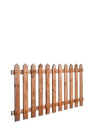 Wicklow Wood Picket Fence