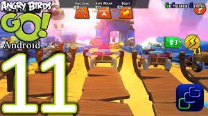 Angry Birds GO Android Walkthrough - Part 11 - AIR Track 1 - YouTube