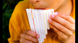 pan flute out of straws