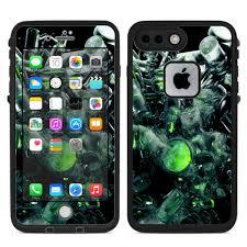 Skins Decals For Voopoo Drag 157w Vape Mod Trippy Glass 3d Green For Sale Online Ebay