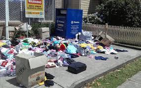 charity bins donate don t dump