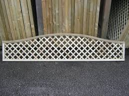 Decorative Arched Florence Topped Lattice Panel Fence Top Chesterfield Sheffield Mansfield Dronfield Bakewell Matlock Riverside Garden Centre