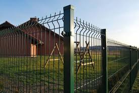 China Galvanized Powder Coating Welded Steel Fence With High Quality China Wire Mesh Fence Security Fence
