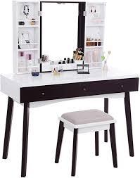 com bewishome vanity set with
