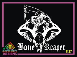 Bone Reaper Vinyl Decal