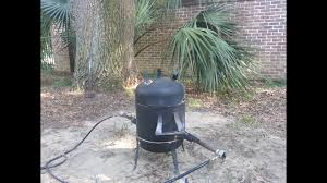 homemade metal furnace portfolium