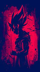 dragon ball z red goku wallpaper
