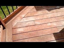 Annual IPE deck Maintenance - Using Oil to rejuvenate IPE - YouTube