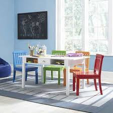 Casey Kids Craft Game Table With 4 Multi Color Chairs Colorful Chairs Contemporary Dining Chairs Upholstered Chairs Diy