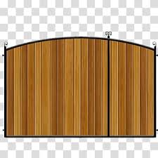 Metal Gate Dorchester Dorset Driveway Fence Split Gates Hardwood Gates And Fences Uk Transparent Background Png Clipart Hiclipart