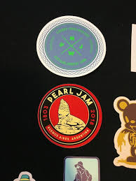 Pearl Jam 12 Rare Sticker Decal Lot Pj Seattle Grunge E