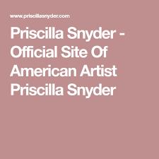Priscilla Snyder - Official Site Of American Artist Priscilla Snyder    American artists, Artist, Portrait sculpture