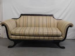 sold duncan phyfe style sofa