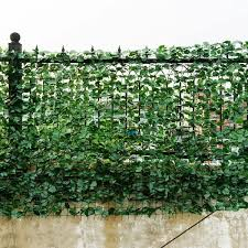 Costway Faux Ivy Leaf Decorative Privacy Fence 40 X 95 36 Google Shopping In 2020 Privacy Fence Screen Artificial Hedges Fence Screening