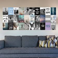 Travel Collage Inspirational Mural Removable Pvc Wall Decals Inspirational Wall Stickers Ethical Market