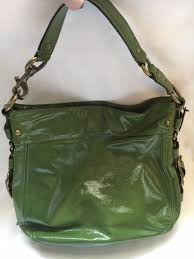 patent leather hobo bag purse