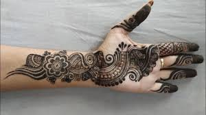 mehndi design new arabic mehndi design