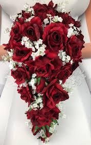 اشكال باقة ورد احمر للعروس 2019 الراقية