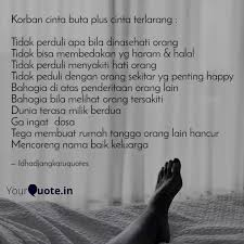 korban cinta buta plus ci quotes writings by ida djangkaru