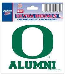 Amazon Com Oregon Ducks Official Ncaa 3 X4 Car Window Cling Decal By Wincraft Sports Fan Decals Sports Outdoors