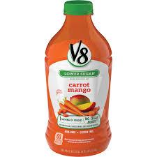 v8 vegetable juice blends carrot mango