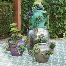 emerald ceramic strawberry pot