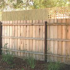 Garden Trend 0 5 X 2 4m Bamboo Fence Extension Backyard Fences Bamboo Fence Backyard Privacy