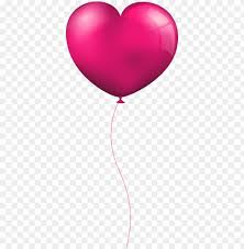 pink heart balloon png images