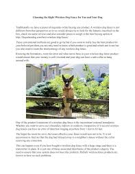 Calameo Choosing The Right Wireless Dog Fence For You And Your Dog