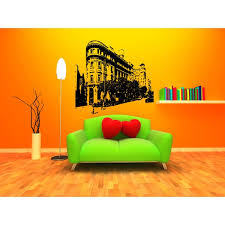 Shop Barcelona Skyline City Sights History Old Picture Wall Art Sticker Decal Overstock 11341496