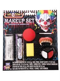 evil clown makeup kit partybell