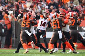 Cleveland Browns vs Bengals Week 17