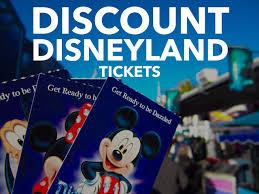 disneyland ticket deals 2020