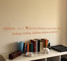 Fruit Of The Spirit Galatians Wall Decals Trading Phrases