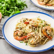 Easy Low-Calorie Shrimp Scampi Recipe