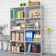 Double Rows 5 Tiers Kids Bookshelf Nonwoven Decorative Display Stand Toys Books Organizer Shelf Children Small Bookcase For Home Bookcases Aliexpress